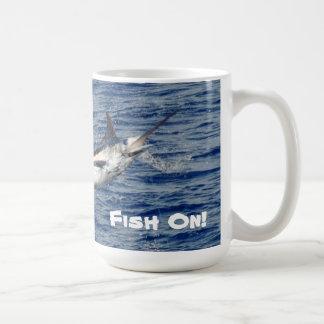 ¡Pescados encendido! Taza De Café