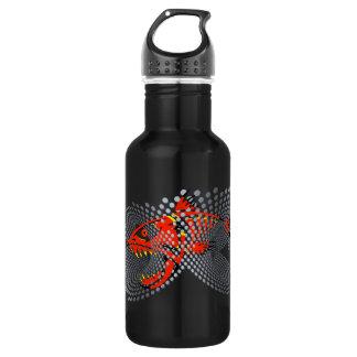 Pescados enojados negros del diseño moderno de la botella de agua