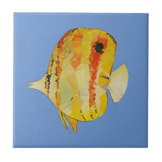 Pescados geométricos azulejo