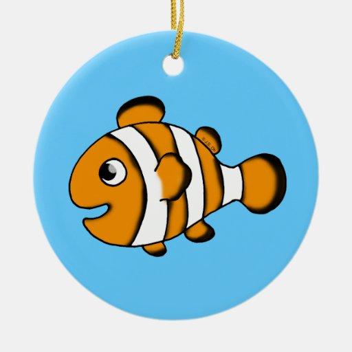 pescados lindos del payaso ornato