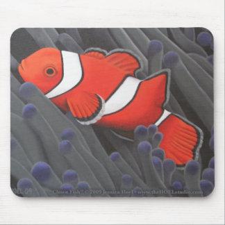 Pescados Mousepad del payaso Alfombrilla De Ratón
