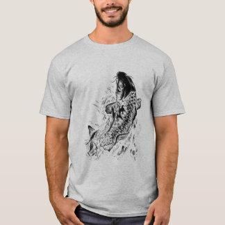 Pescados negros de Koi Camiseta