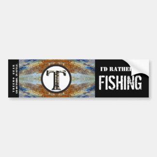 Pescados personalizados naturaleza de la etiqueta