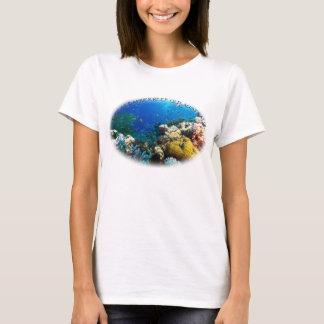Pescados tropicales del mar de coral camiseta