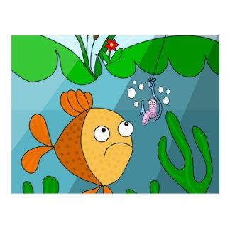 Pescados y gusano postal