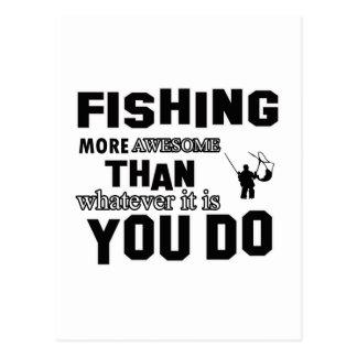 pescando más impresionante que qué usted lo hace postal