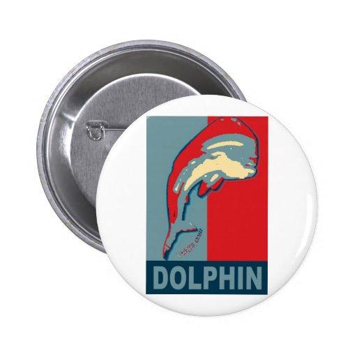 Pescando para el delfín, Dorado, MahiMahi Pin