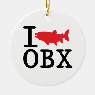 Pesco OBX. Adorno Navideño Redondo De Cerámica