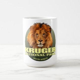 PESO de Kruger NP (león) Taza De Café