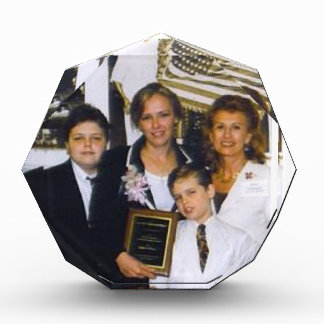 Peso de papel personalizado de los premios