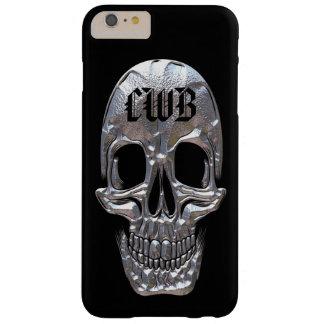 Peso ligero craneal del cráneo del factor del funda barely there iPhone 6 plus