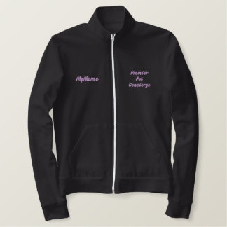 Pet primero Concierge Purple Custom Chaqueta