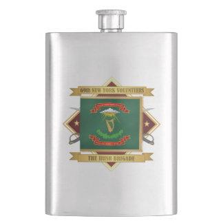 Petaca 69.o Infantería voluntaria de Nueva York