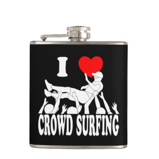 Petaca Amo a la muchedumbre que practica surf (el varón)