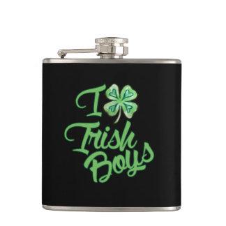 Petaca Amo a muchachos irlandeses