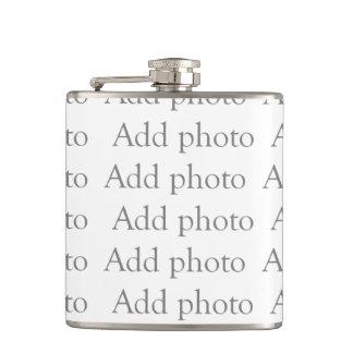 Petaca Añada nuestro propio frasco de la foto
