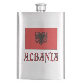 Petaca andWord de la bandera de Albania