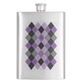 Petaca Argyle púrpura
