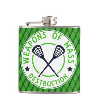 Petaca Armas de LaCrosse del frasco de la destrucción