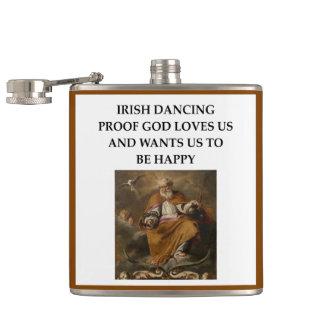 Petaca baile irlandés