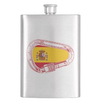 Petaca Bandera del mosquetón de España