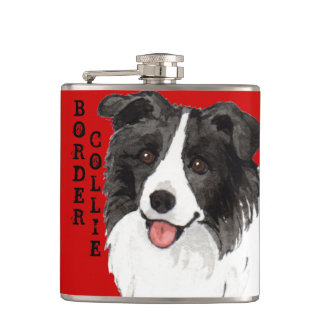 Petaca Bloque del color del border collie