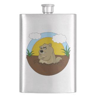 Petaca Día de la marmota