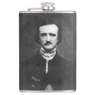 Petaca Edgar Allen Poe con cita