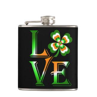 Petaca El día de St Patrick del amor