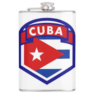 Petaca Escudo cubano de la bandera