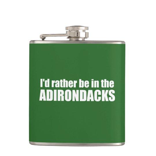 Petaca Estaría bastante en el Adirondacks