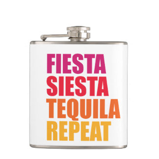 Petaca Fiesta, siesta, vacaciones de Bachelorette del