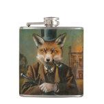 Petaca Frasco apuesto de la cadera del Fox del vintage