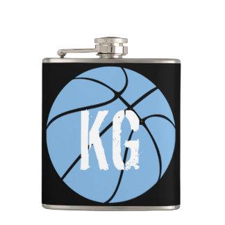 Petaca (Frasco azul claro de la cadera del baloncesto del