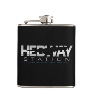Petaca Frasco de la estación de HEDWAY (negro)