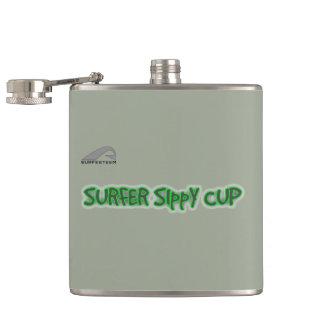 Petaca Frasco de la marca de SURFESTEEM. Taza de SIppY de