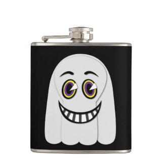 Petaca frasco del fantasma del vintage de los años 30