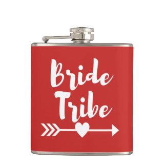 Petaca Frasco del vinilo del boda de Bachelorette de la
