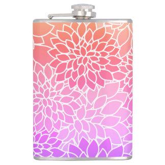 Petaca Frasco rosado lindo y femenino del frasco 8oz del