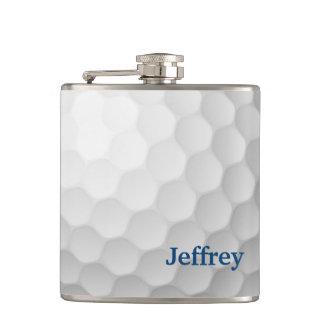 Petaca Frasco temático del golf personalizado