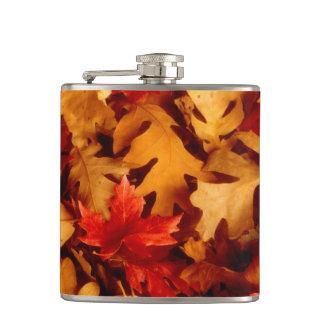 Petaca Hojas de otoño - color de la caída