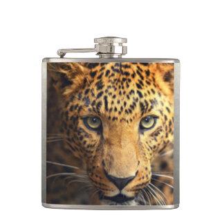 Petaca Leopardo manchado negro de Brown