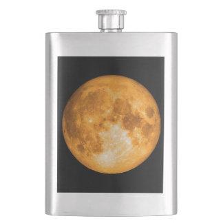 Petaca Luna Llena anaranjada