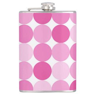Petaca Lunares rosados elegantes femeninos lindos