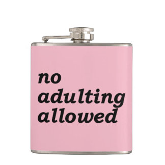Petaca Ningún frasco permitido Adulting