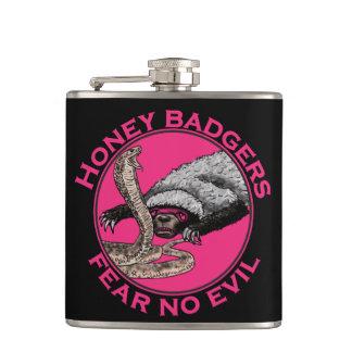 Petaca No tema ningún diseño animal rosado divertido