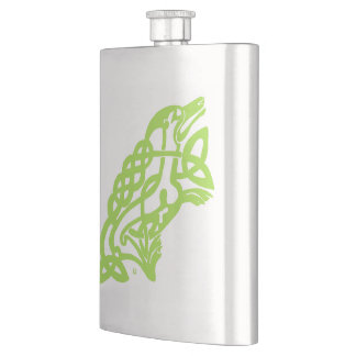 Petaca Nudo irlandés del Celtic del frasco