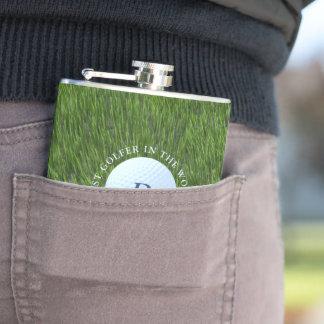 Petaca Papá el mejor golfista del frasco del mundo