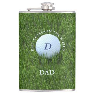 Petaca Papá el mejor golfista del frasco Golfing del