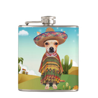Petaca Perro mexicano, chihuahua